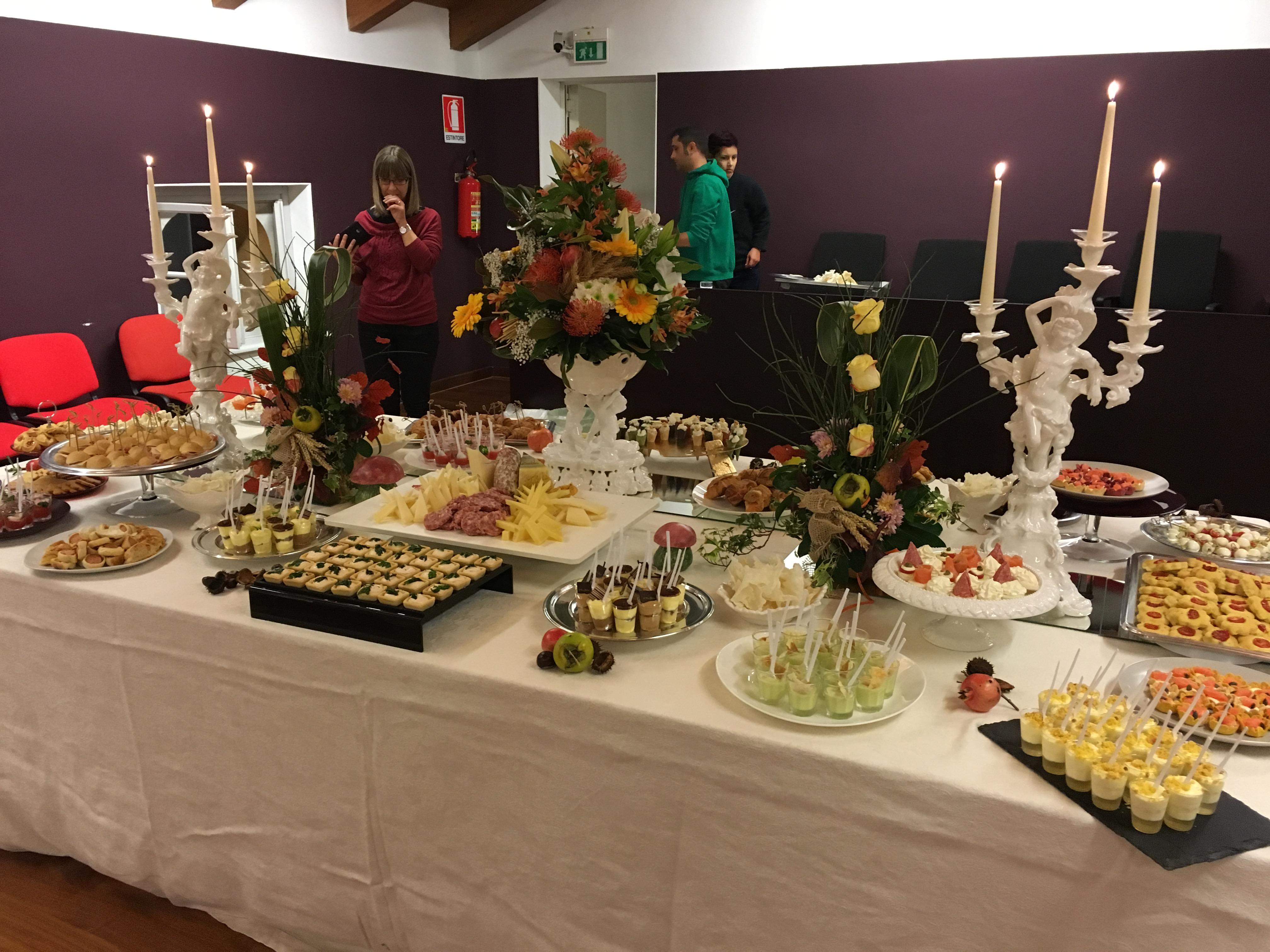 Rinfreschi a gorizia per cerimonie feste di compleanno ed eventi