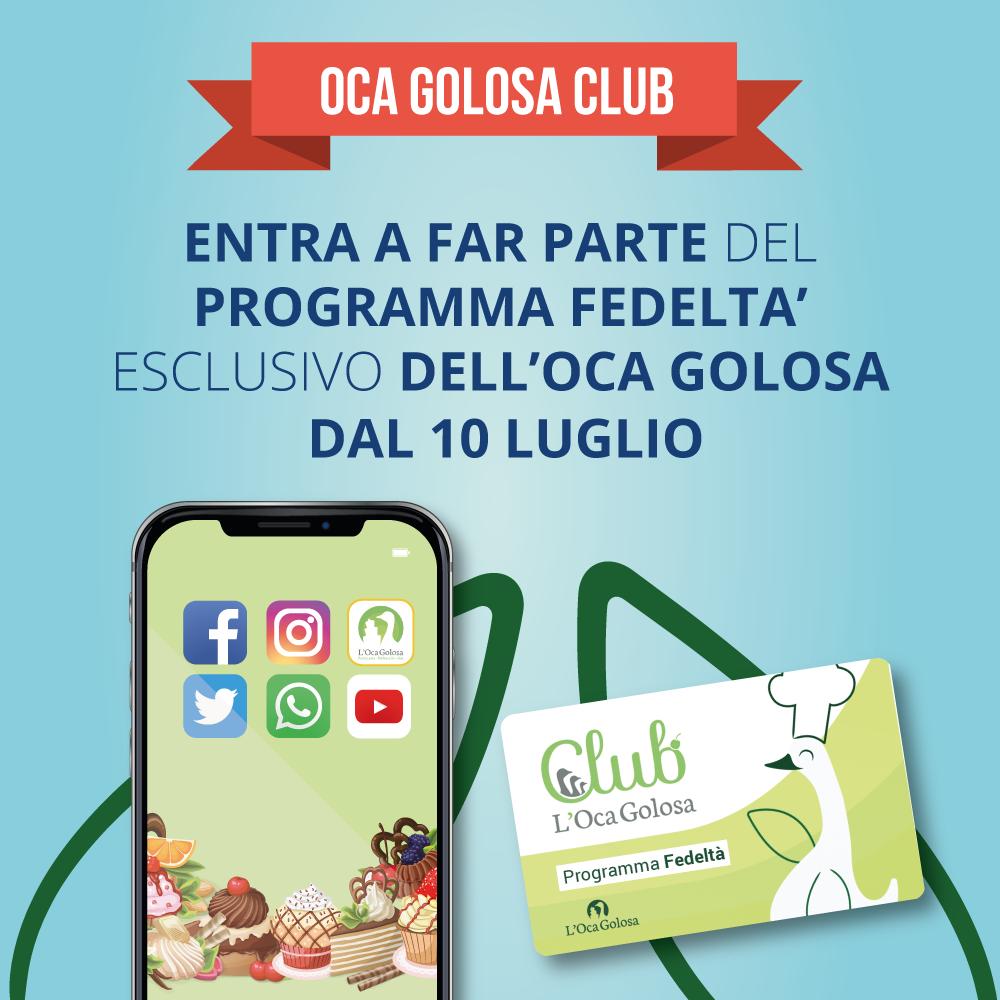 app e fidelity card pasticceria l'oca golosa gorizia