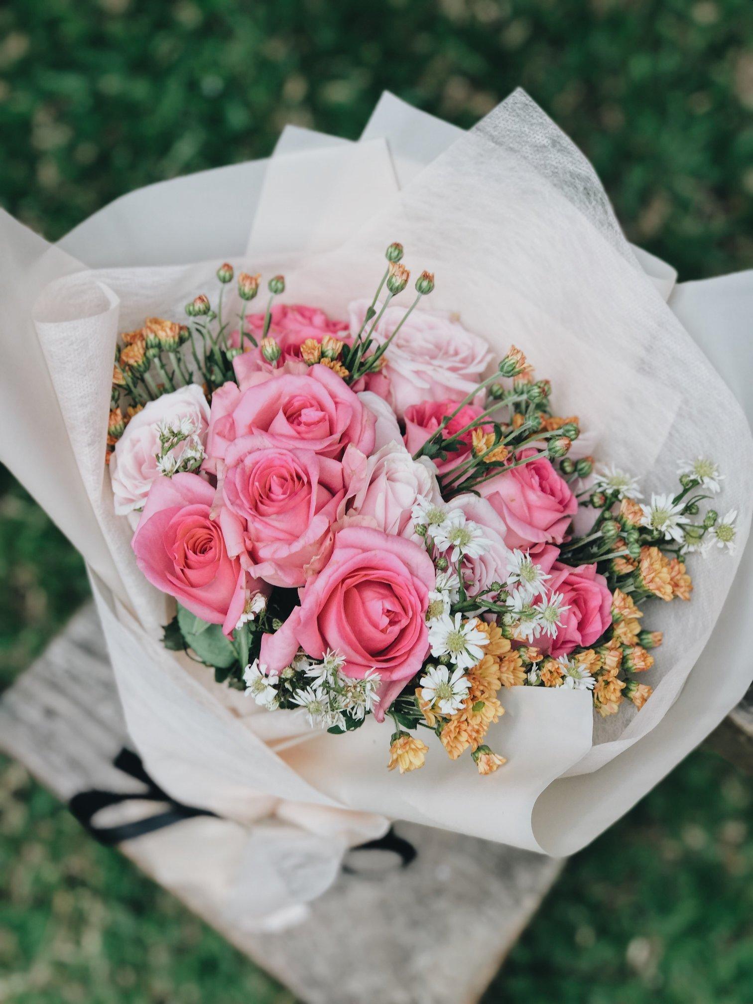 Immagini Fiori.Bouquet Fiori Misti L Oca Golosa