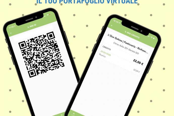Oca Golosa Wallet – Portafoglio virtuale